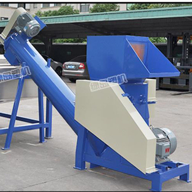4000 Kg Pvc Crusher Machine / 6 Rotary Knife Energy Saving Waste Plastic Crusher