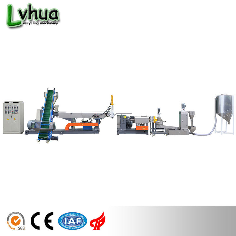 Output 160 - 200kg/H PE Wet Film Granulator Plastic Recycling Industrial Waste Recycling